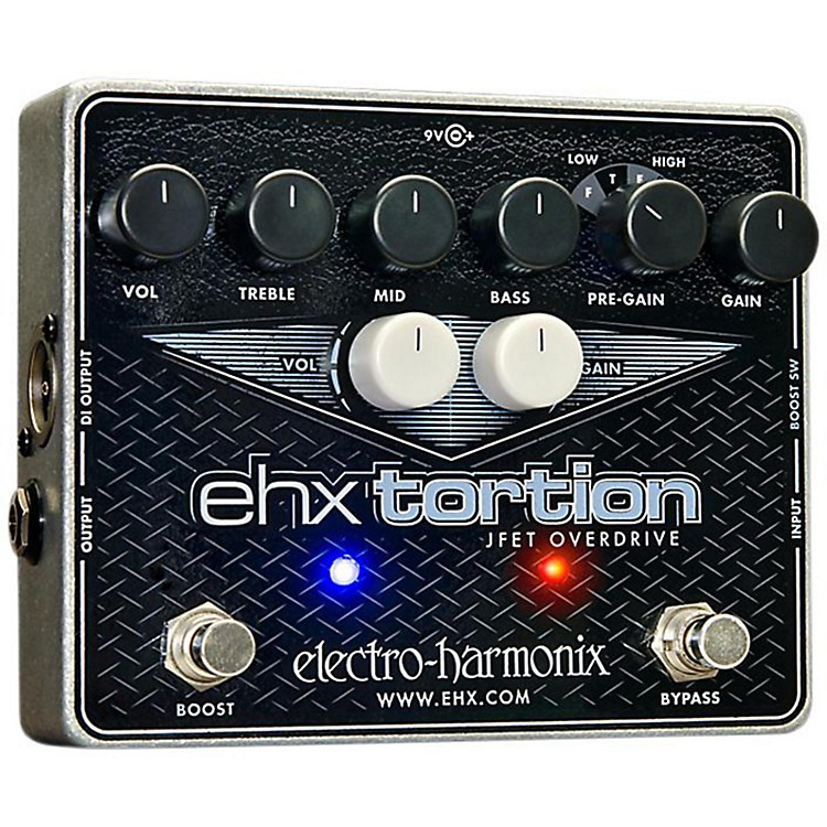 Electro-HarmonixEHXTortion JFET Overdrive Guitar Effects Pedal