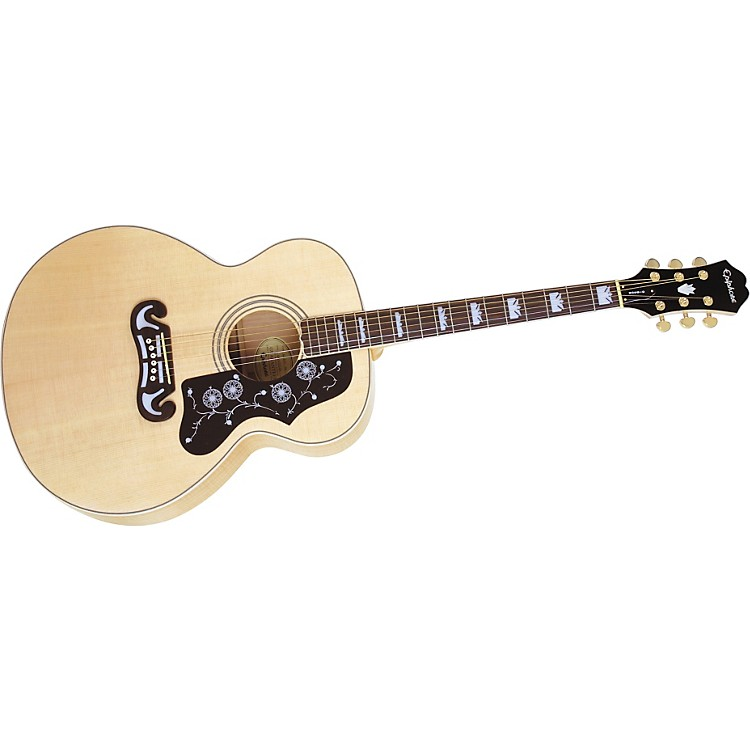 Epiphone EJ-200 Acoustic Guitar Natural