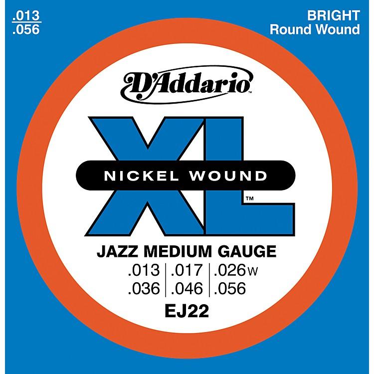 D'AddarioEJ22 Nickel Jazz Medium Electric Guitar Strings