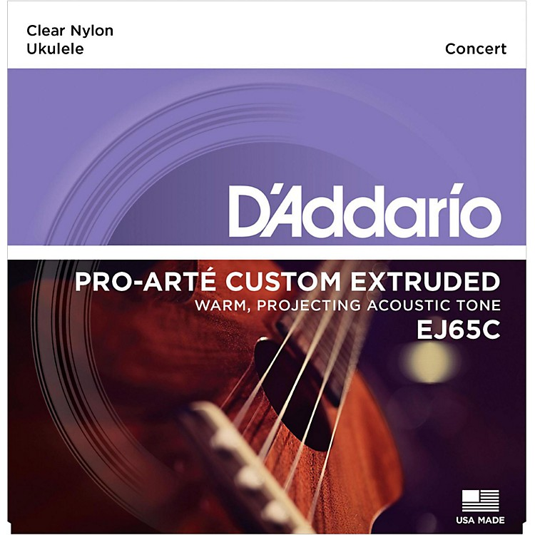 D'Addario EJ65C Pro-Arte Custom Extruded Concert Nylon Ukulele Strings