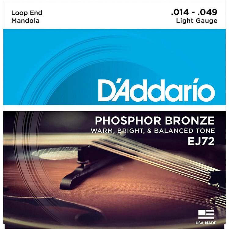 D'AddarioEJ72 Phosphor Bronze Light Mandola Strings (14-49)