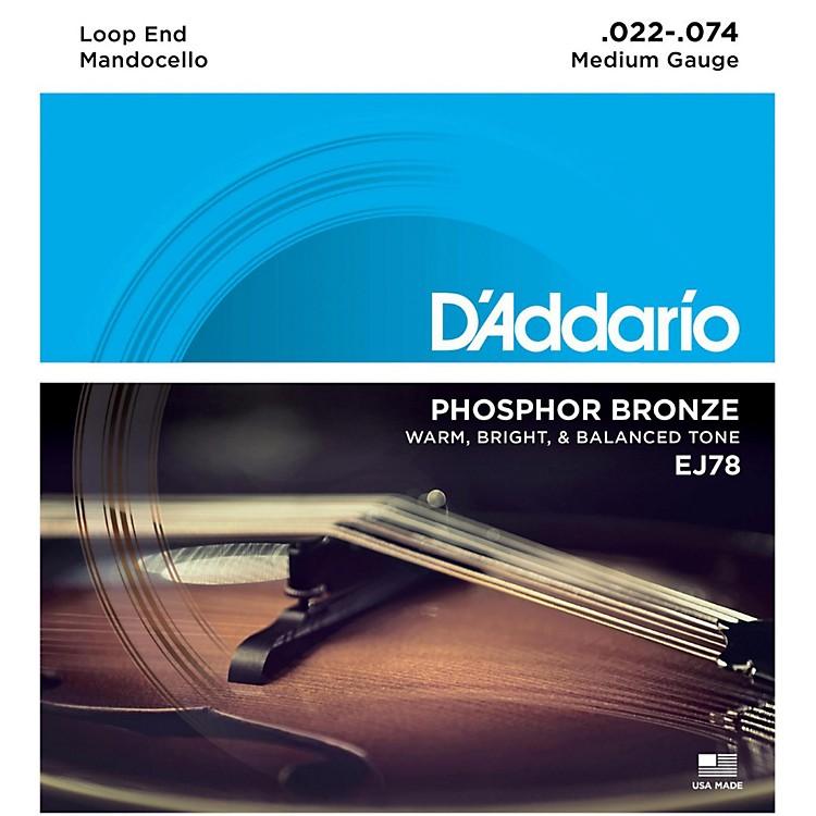 D'AddarioEJ78 Phosphor Bronze Mandocello Strings (22-74)