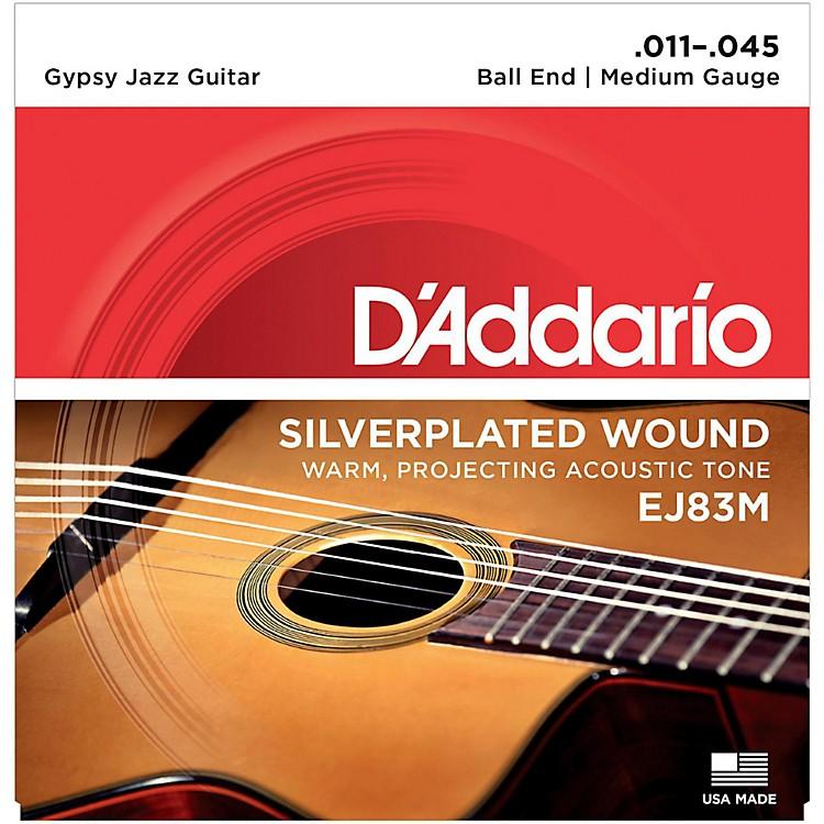 D'AddarioEJ83M Gypsy Jazz Silver Wound Medium Acoustic Guitar Strings