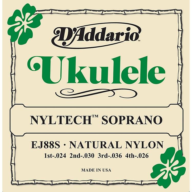 D'AddarioEJ88S Nyltech Soprano Ukulele Strings
