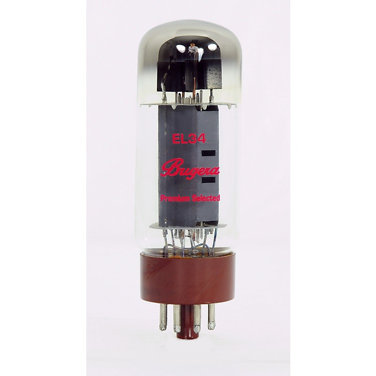 BugeraEL34-4 Pack Matched Power Amp Tubes