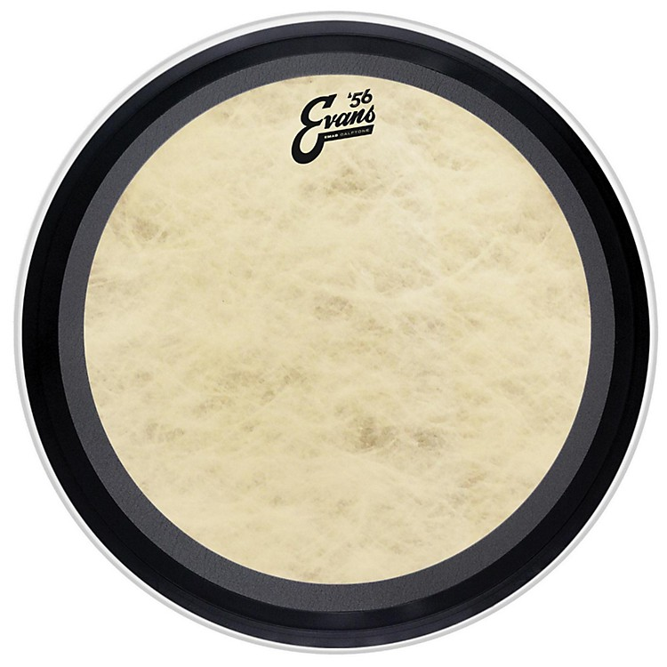 Evans EMAD Calftone Bass Drum Head 24 in.