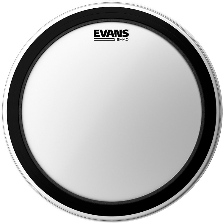 Evans EMAD Coated Bass Drum Batter Head 20 in.