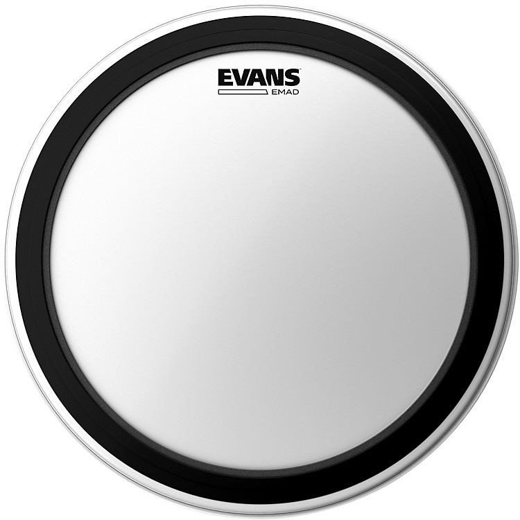 EvansEMAD Coated Bass Drum Batter Head24 in.