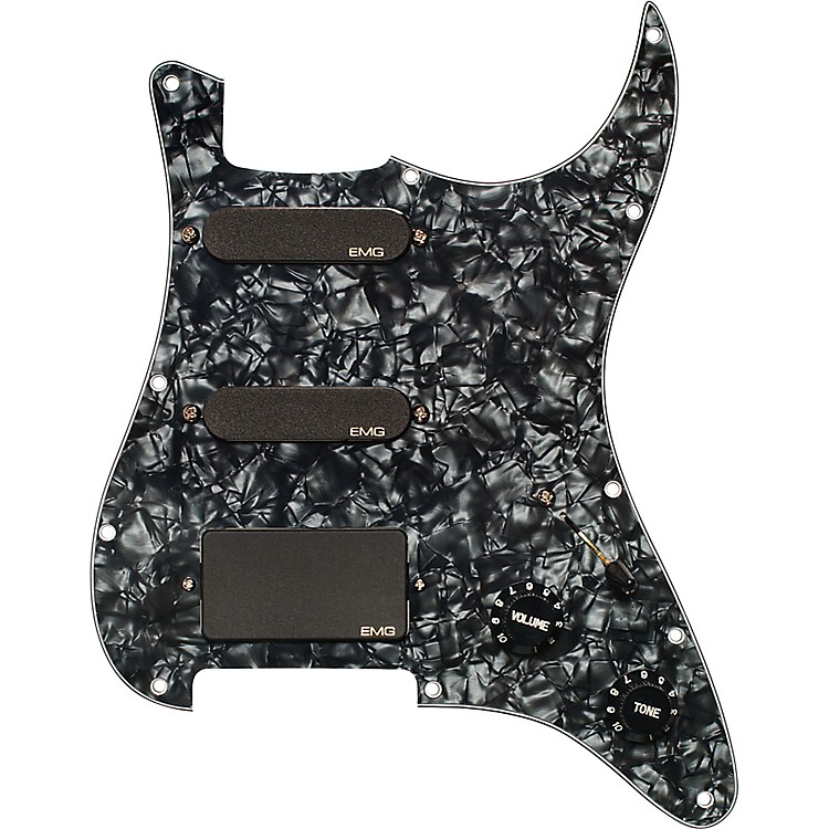 EMG EMG-SL20 Steve Lukather Prewired Pickguard/Pickup Set Black