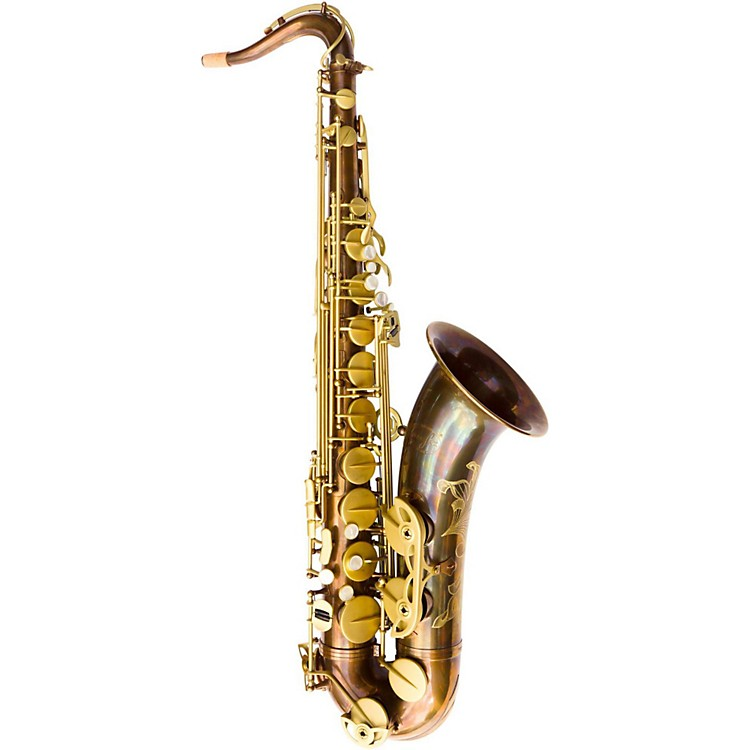 MACSAXEMPYREAL Tenor SaxophoneVintage with Matte Gold Keys