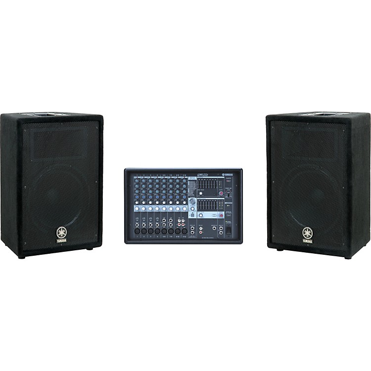 YamahaEMX212S mixer / A12 Speaker Package