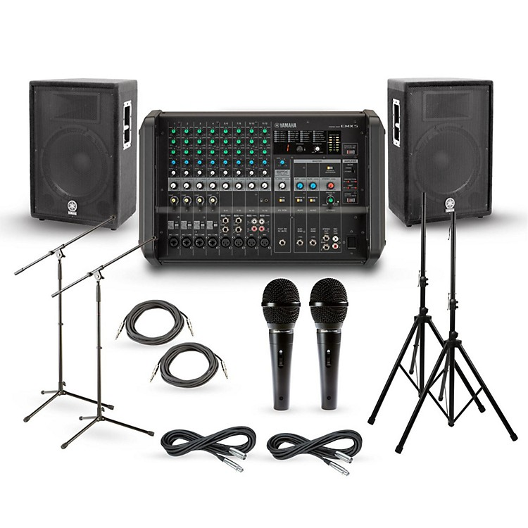 Yamaha EMX5 with A-Series PA Package 12
