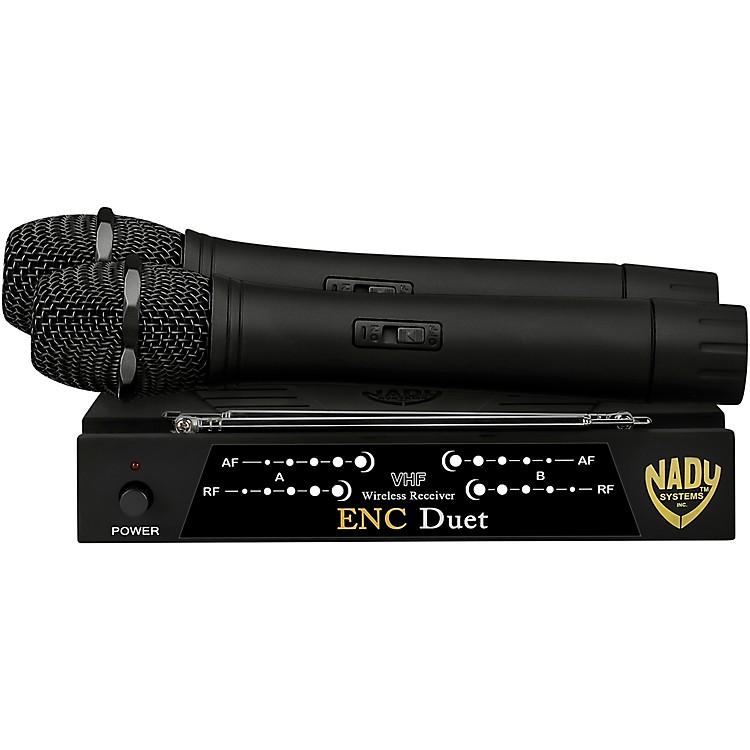 NadyENC Duet Wireless Handheld Microphone SystemBand B and D