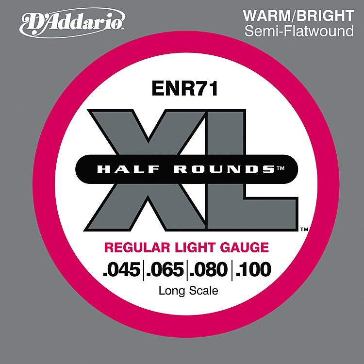 D'AddarioENR71 Half Rounds Light Bass Strings
