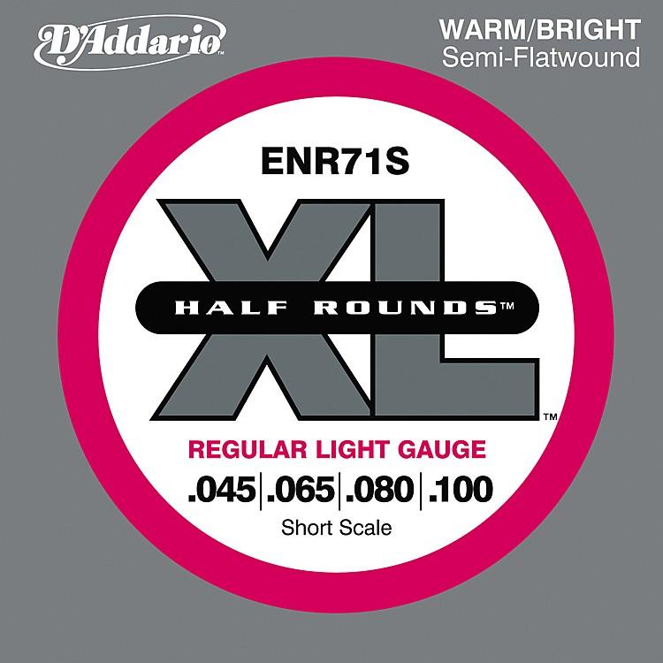 D'AddarioENR71S Half Rounds Light Bass Strings