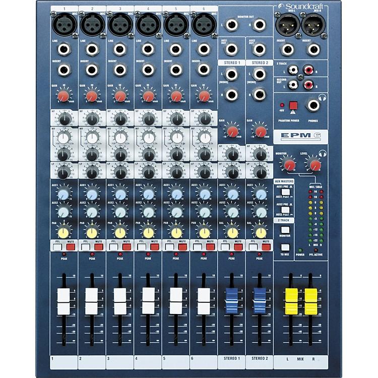 SoundcraftEPM6 6-Channel Multi-Format Mixer
