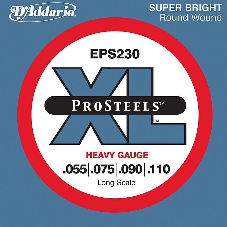 D'AddarioEPS230 ProSteel Long Scale Bass Strings Heavy