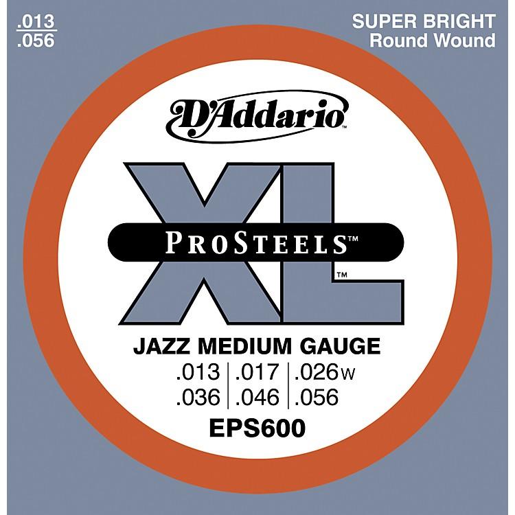 D'AddarioEPS600 ProSteels Jazz Medium Electric Guitar Strings
