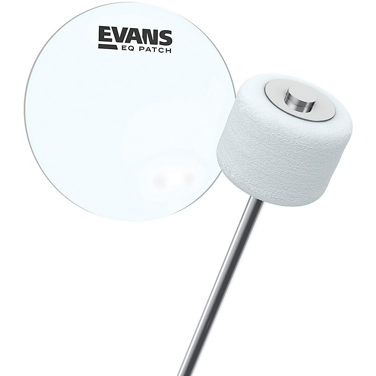 Evans EQ Bass Drum Patch Clear