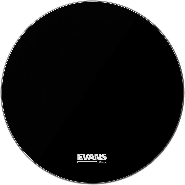 EvansEQ3 Resonant Black Tom Drumhead for Floor Tom Conversion16 in.