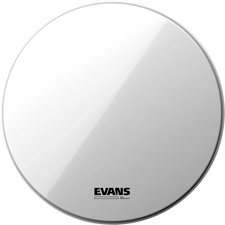 Evans EQ3 Resonant Smooth White Tom Drumhead for Floor Tom Conversion 16 in.