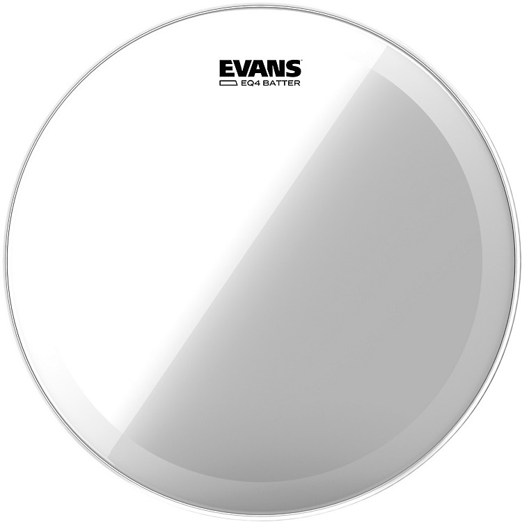 Evans EQ4 Batter Head Clear  24 in.