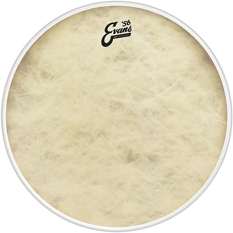 EvansEQ4 Calftone Bass Drum Head22 in.