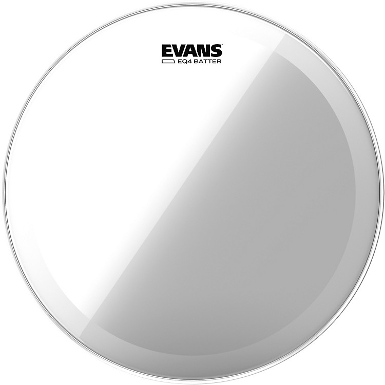Evans EQ4 Clear Tom Drumhead for Floor Tom Conversion 16 in.
