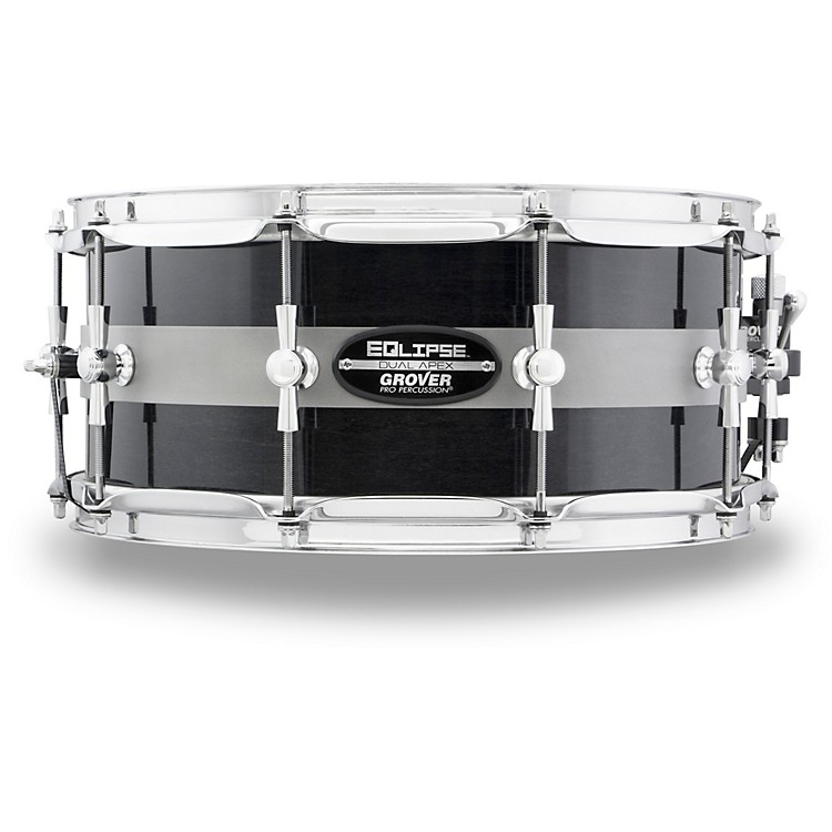 Grover Pro EQlipse Snare Drum 14 x 6 in. Black Lacquer