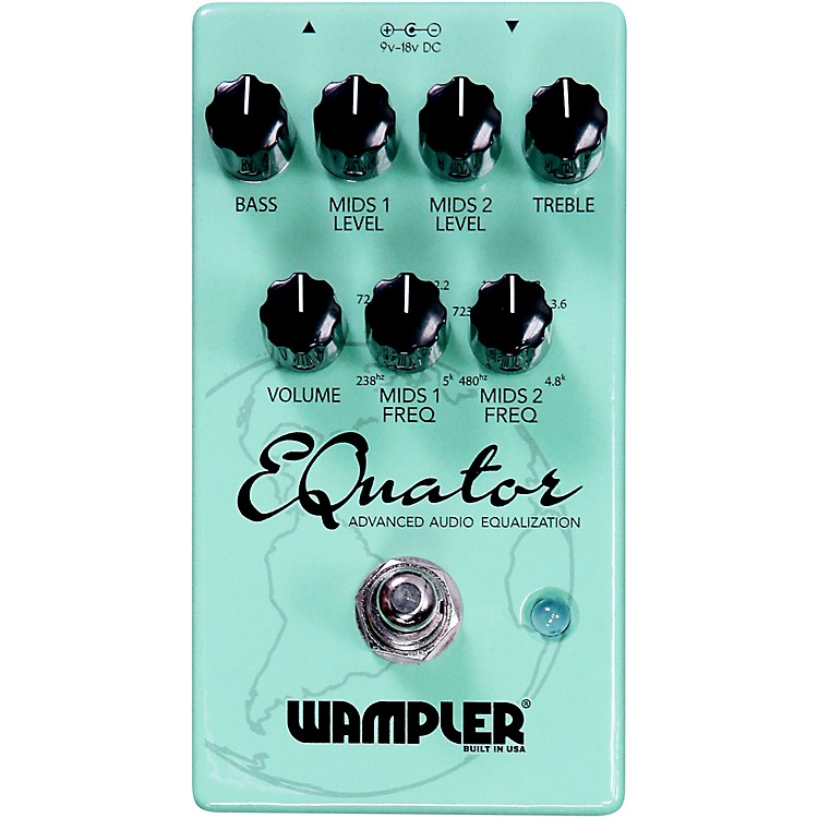 WamplerEQuator EQ Effects Pedal