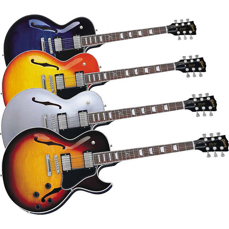GibsonES-137 Classic Electric GuitarTri-BurstChrome Hardware