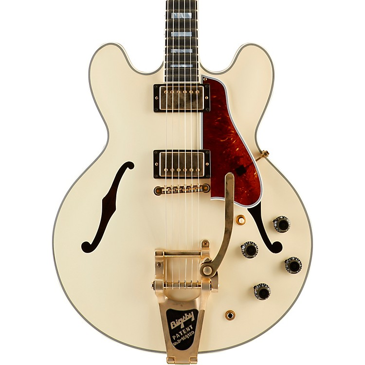 GibsonES-355 VOS Bigsby Semi Hollow Electric GuitarClassic White