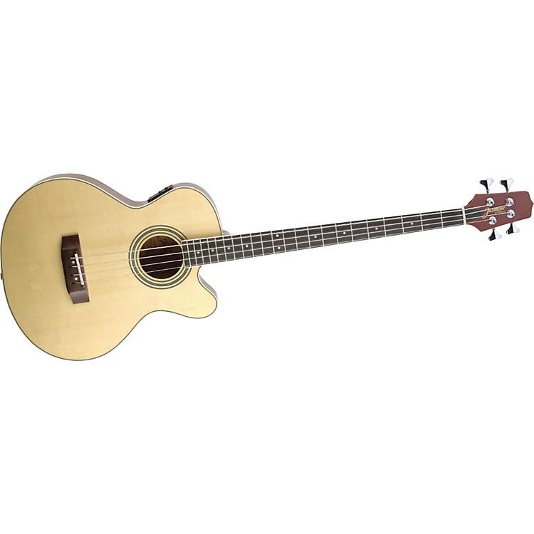 JasmineES50C Cutaway Acoustic-Electric Bass Guitar