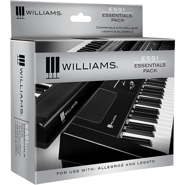 williams ess1 essentials pack for legato digital piano music123. Black Bedroom Furniture Sets. Home Design Ideas