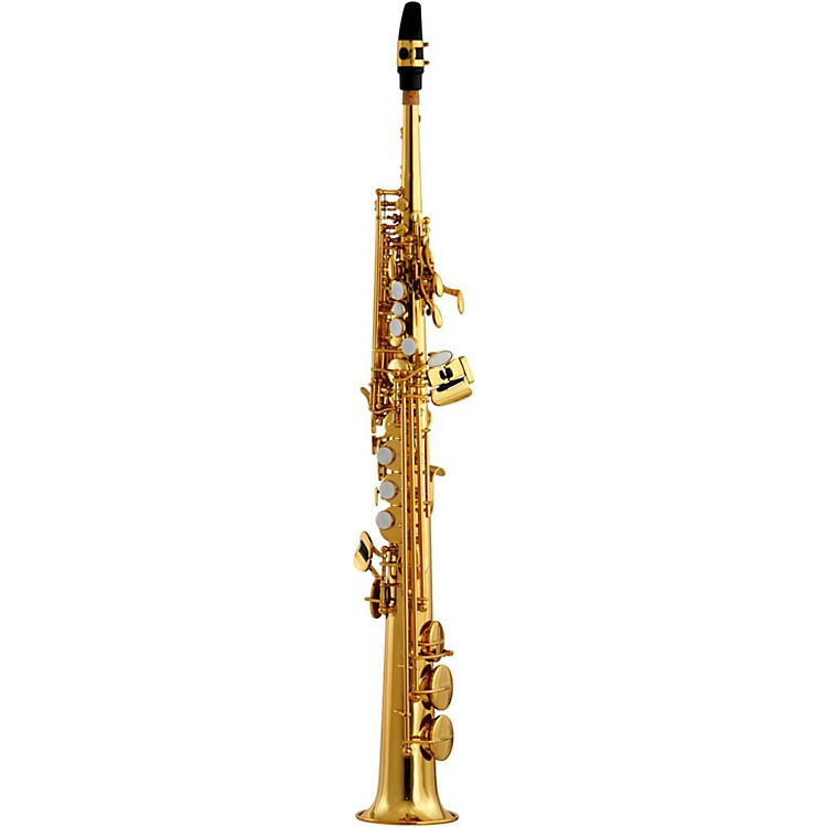 EastmanESS642 Professional Soprano SaxophoneBlack Nickel Plated Body with Silver Plated Keys