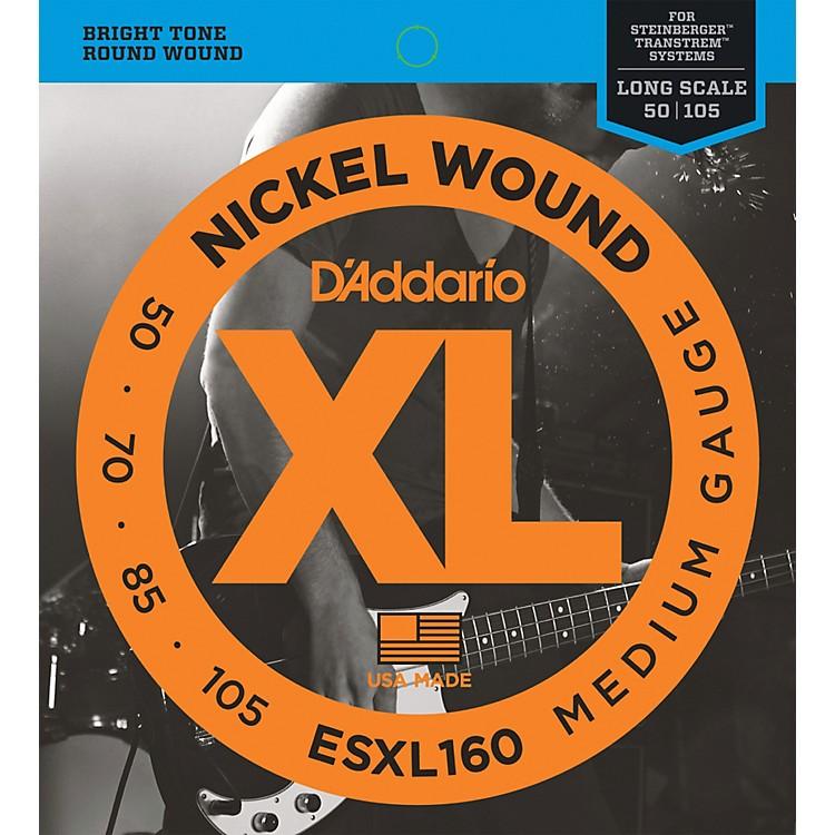 D'AddarioESXL160 Steinberger Double Ball Long Bass Guitar Strings