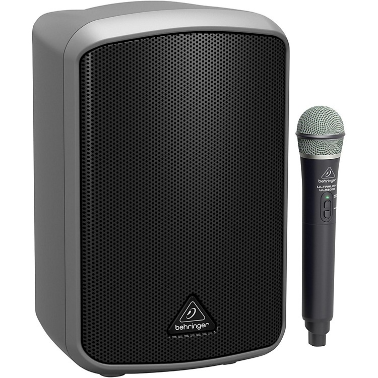 BehringerEUROPORT MPA100BT Portable Bluetooth Speaker with Wireless Microphone
