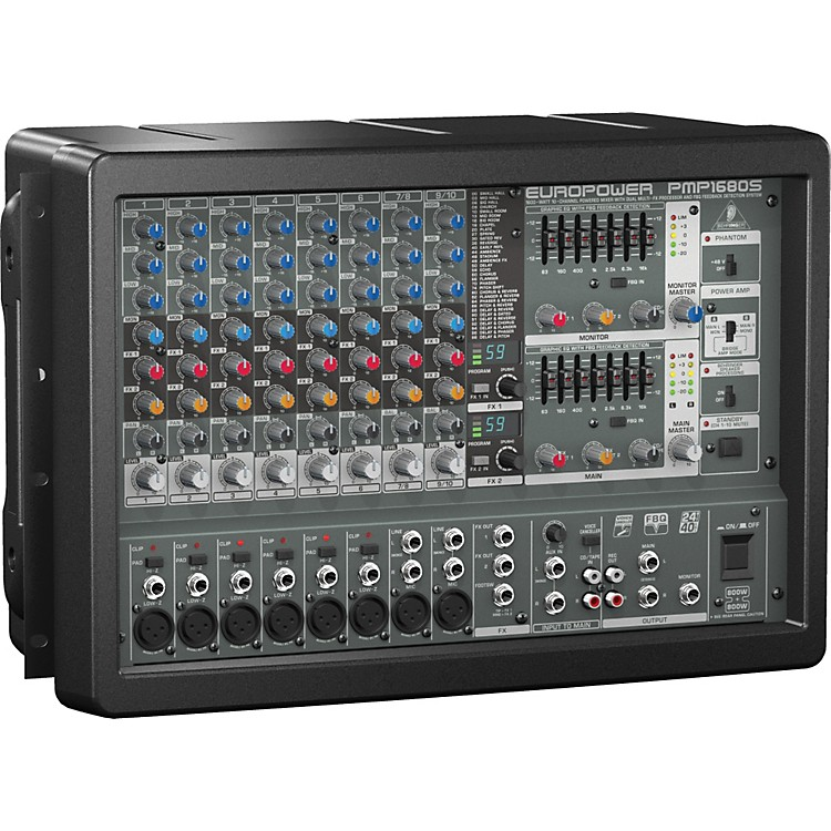 Behringer EUROPOWER PMP1680S 10-Channel Powered Mixer