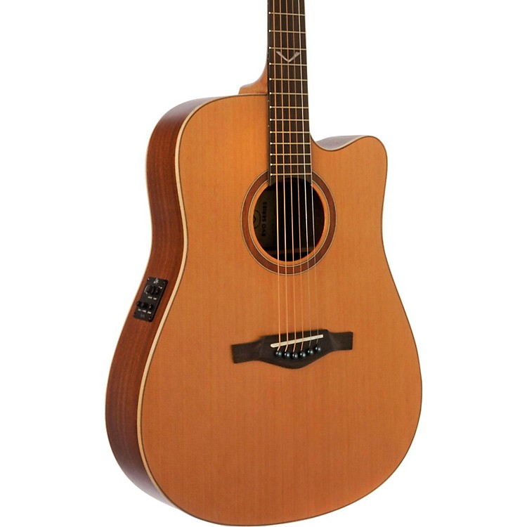 EKO EVO Series Dreadnought Acoustic-Electric Guitar Natural