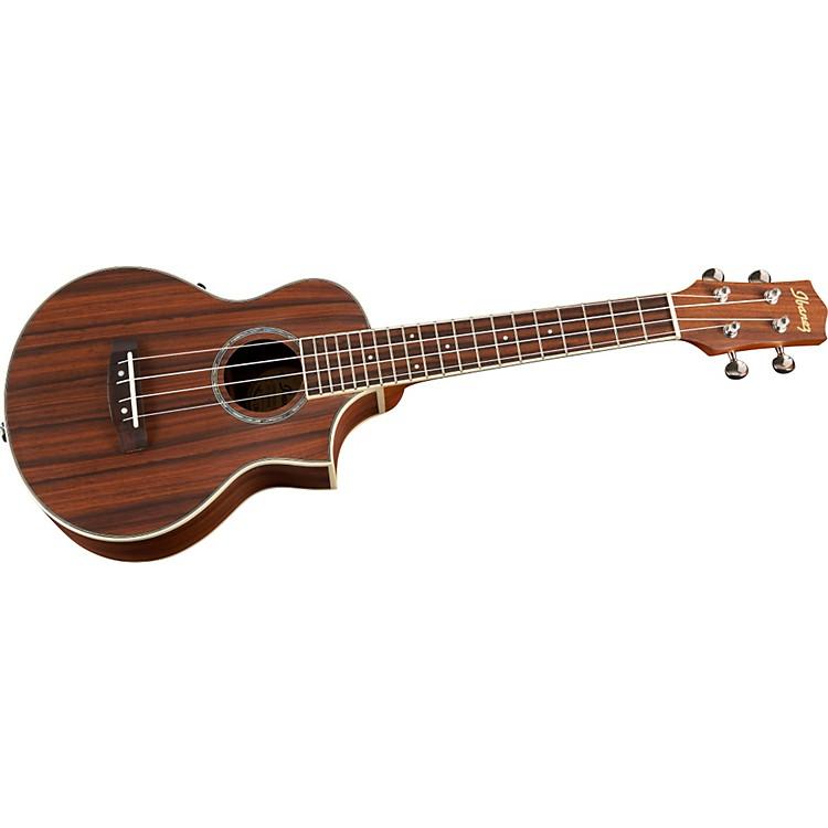 ibanez ew concert acoustic electric ukulele music123. Black Bedroom Furniture Sets. Home Design Ideas