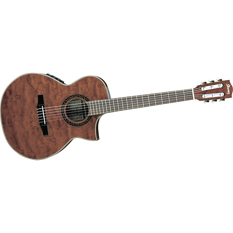 ibanez ew series ewn28bgent cutaway nylon string acoustic electric guitar music123. Black Bedroom Furniture Sets. Home Design Ideas
