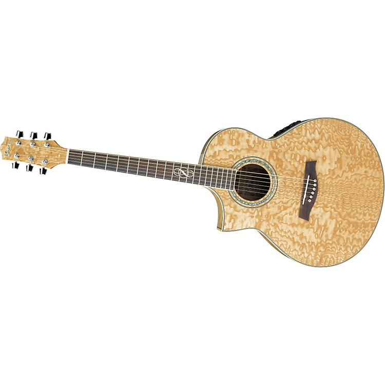 ibanez ew20as left handed exotic wood acoustic electric guitar music123. Black Bedroom Furniture Sets. Home Design Ideas