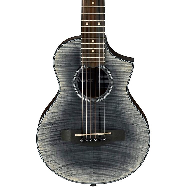 IbanezEWP32FM Piccolo Acoustic GuitarTransparent Black Sunburst