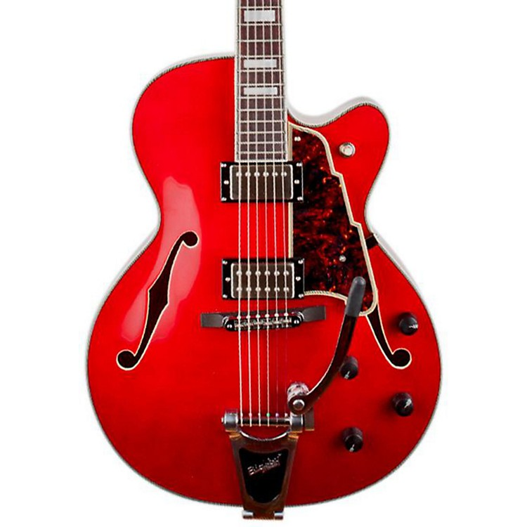 D'Angelico EX-175 Hollowbody Electric Guitar Cherry