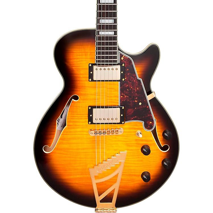 D'AngelicoEX-SS Semi-Hollowbody Electric GuitarVintage Sunburst