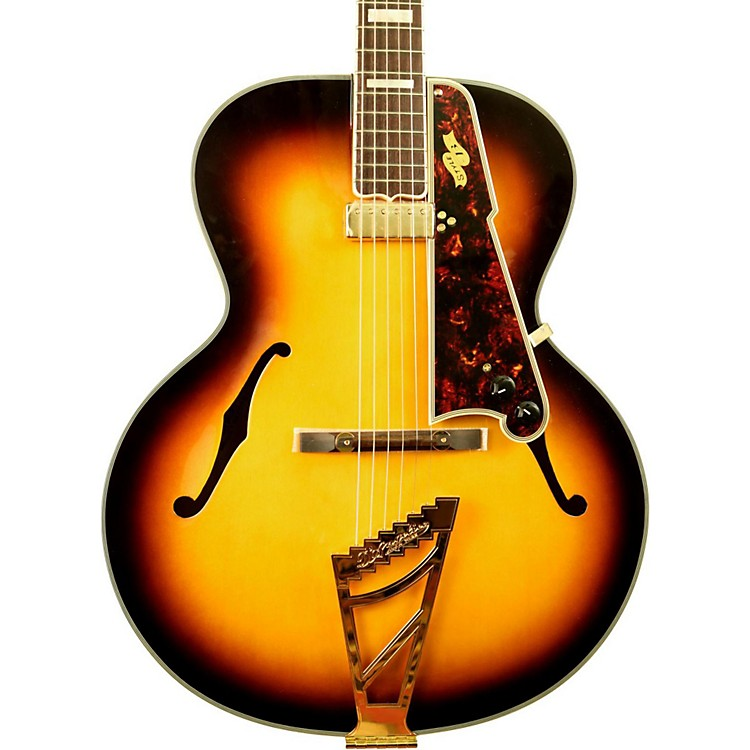 D'Angelico EX-Style B Acoustic-Electric Archtop Guitar Vintage Sunburst