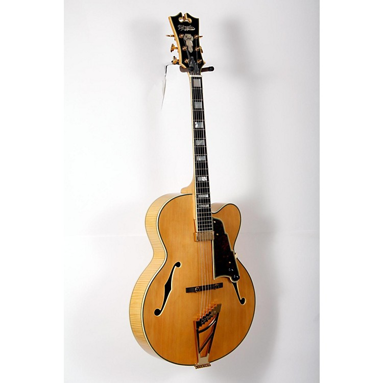 D'Angelico EXL-1 Hollowbody Electric Guitar Natural 888365898162