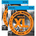 D'Addario EXL110 Nickel Wound Light Electric Guitar Strings Two-Pack