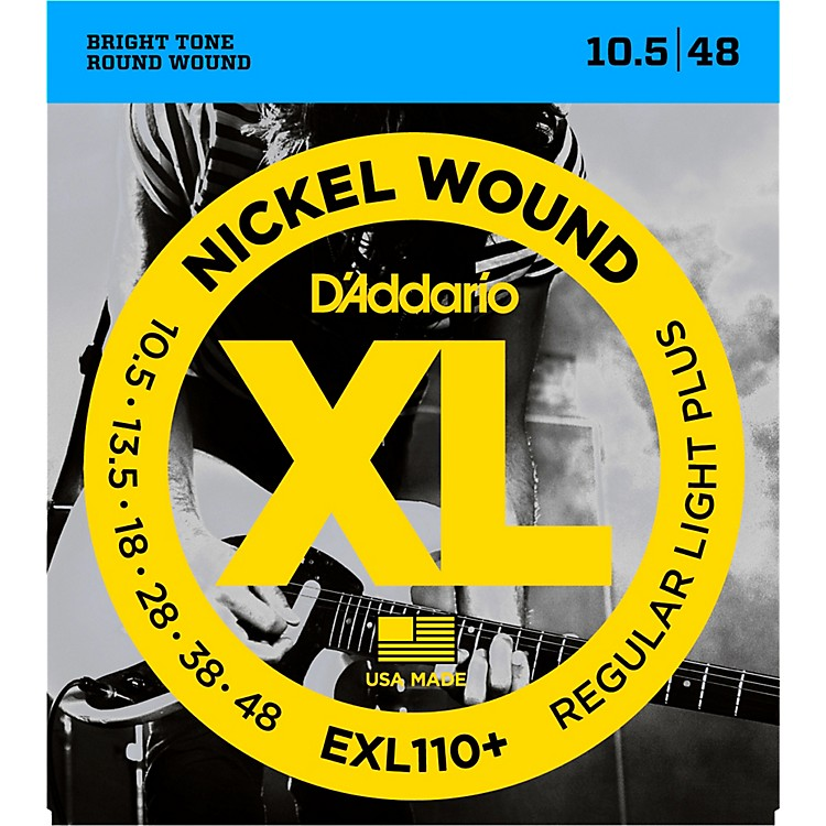 D'Addario EXL110+ XL 010 Electric Guitar Strings