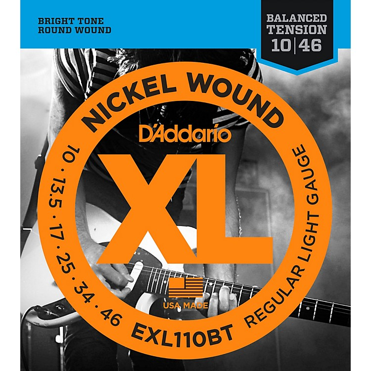 D'Addario EXL110BT Balanced Tension Lite Electric Guitar Strings Single-Pack